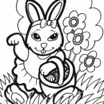 Free Printable Easter Bunny Coloring Pages For Kids | Easter | Bunny   Free Printable Easter Pages