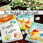 Free Printable Easter Cards: 4 Adorable Designs   Free Printable Easter Greeting Cards