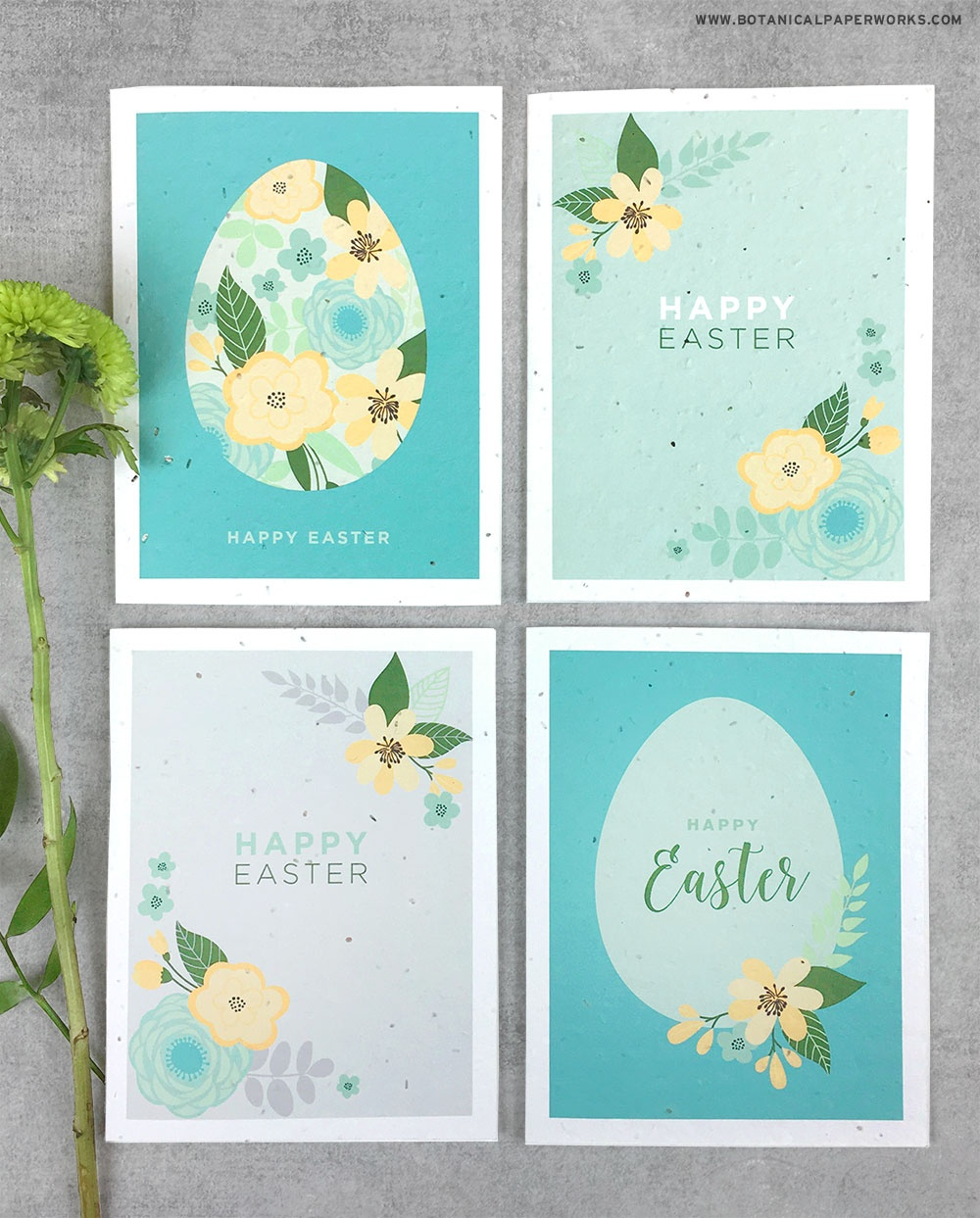 Free Printable} Easter Cards | Blog | Botanical Paperworks - Free Printable Easter Cards To Print