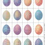 Free Printable Easter Egg Matching Game | Print, Cut, Paste, Craft!   Free Printable Matching Cards