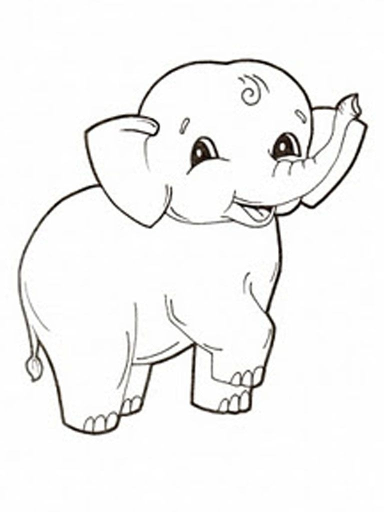 Free Printable Elephant Coloring Pages For Kids | Let's Color - Free Printable Elephant Images