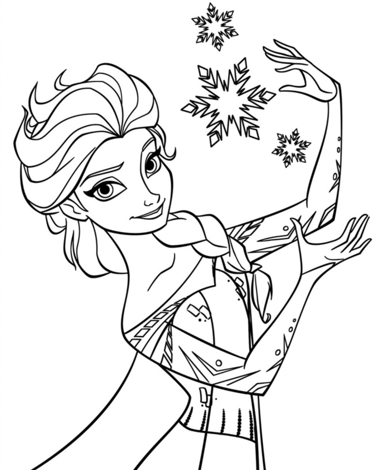 Free Printable Elsa Coloring Pages For Kids | Elsa | Frozen Coloring - Free Printable Frozen Coloring Pages