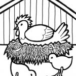 Free Printable Farm Animal Coloring Pages For Kids | Jameson | Farm   Free Coloring Pages Animals Printable