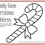 Free Printable For Painting Candy Cane Patterns | Preschool Ideas   Free Candy Cane Template Printable