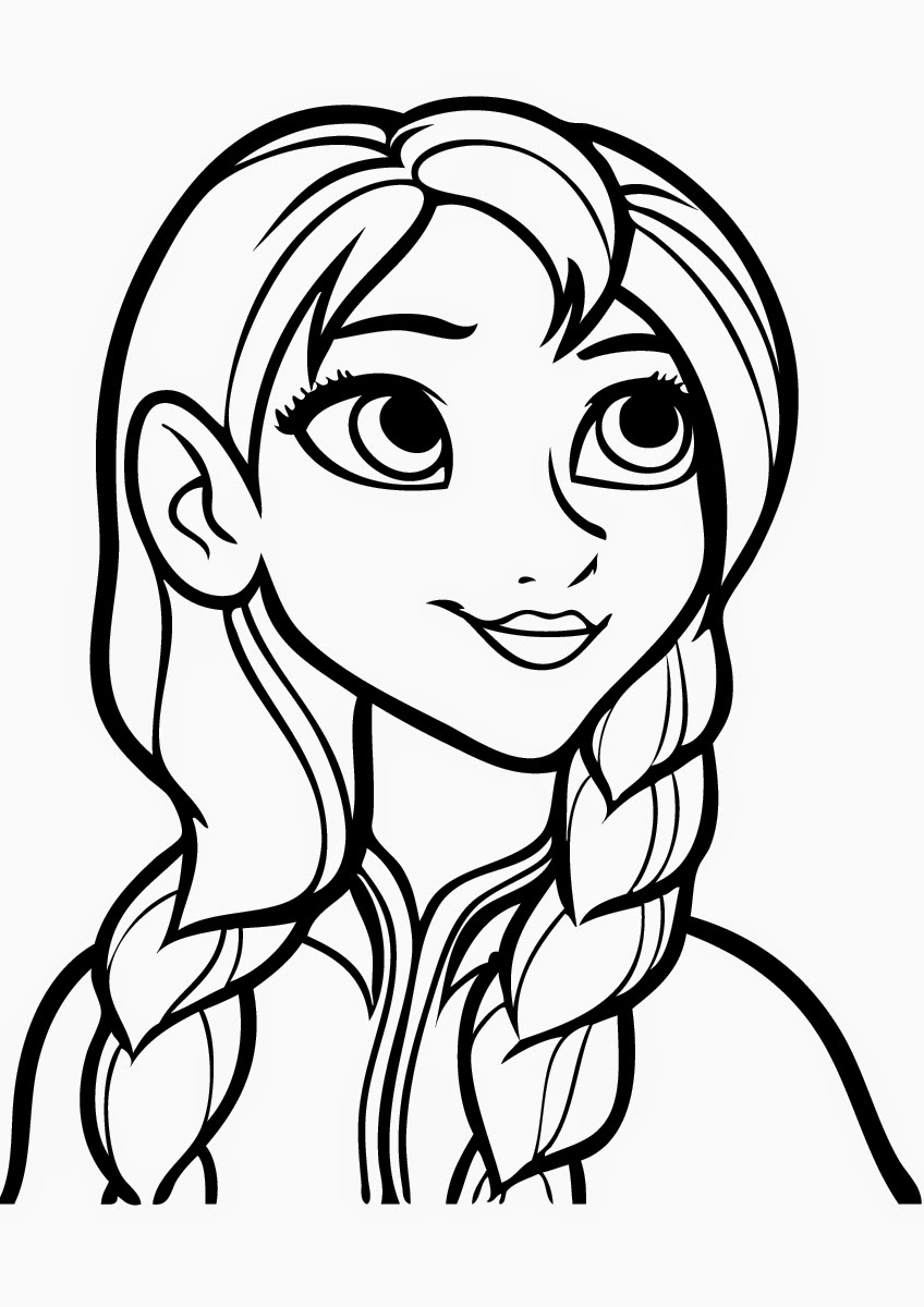 Free Printable Frozen Coloring Pages For Kids - Best Coloring Pages - Free Printable Frozen Coloring Pages