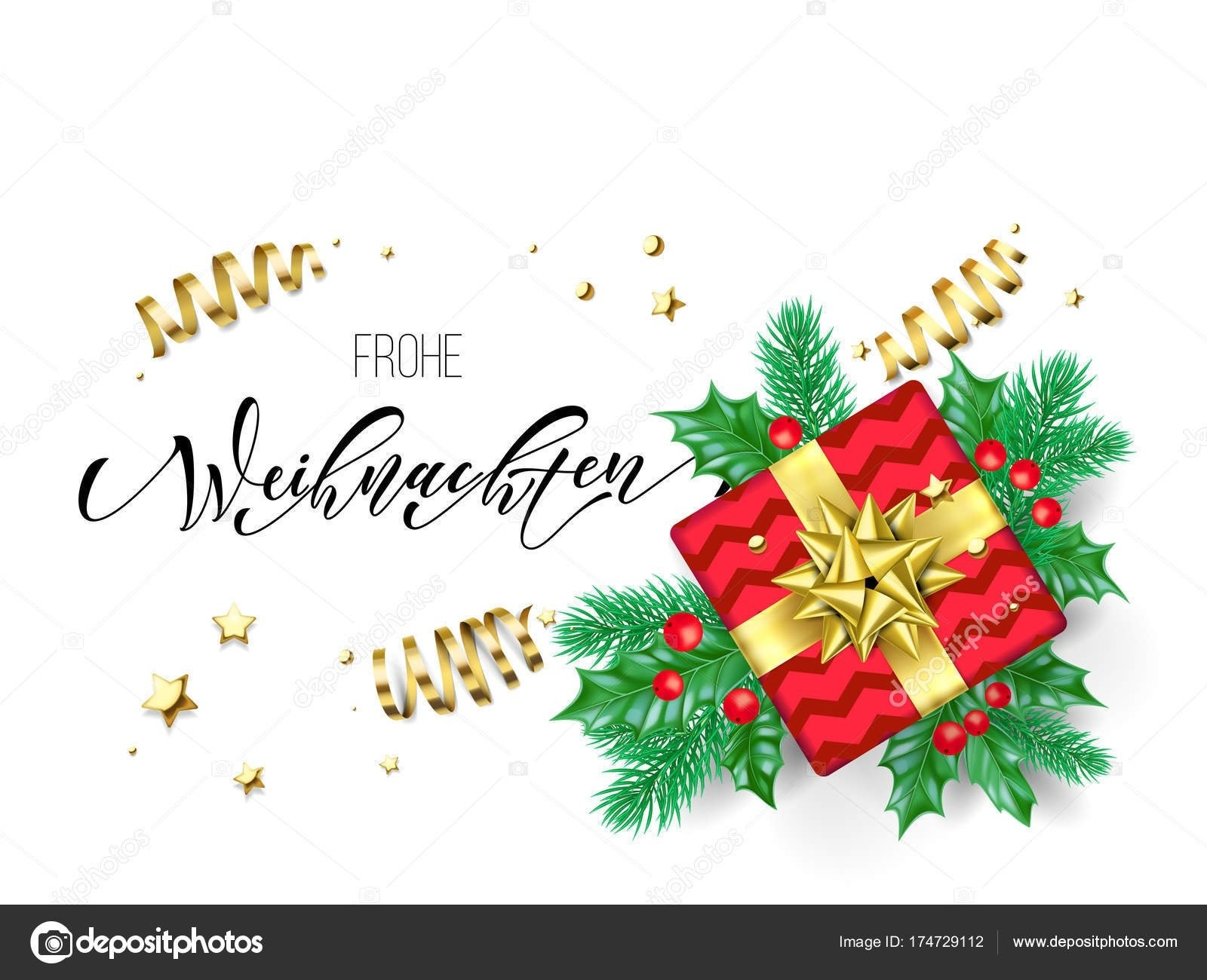Free Printable German Christmas Cards – Festival Collections - Free Printable German Christmas Cards
