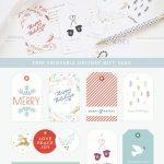 Free Printable Gift Tags   Colorful Christmas Wrapping   Diy   Diy Gift Tags Free Printable