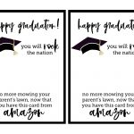Free Printable Graduation Card   Paper Trail Design   Graduation Cards Free Printable Funny