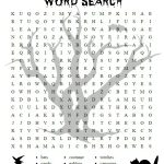 Free Printable Halloween Activities For First Graders | Halloween   Free Printable Halloween Word Search Puzzles