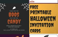 Free Printable Halloween Invitation Cards — A Family Blog – Free Printable Halloween Invitations