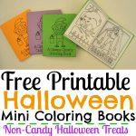 Free Printable Halloween Mini Coloring Books   Simple Made Pretty   Free Printable Mini Books