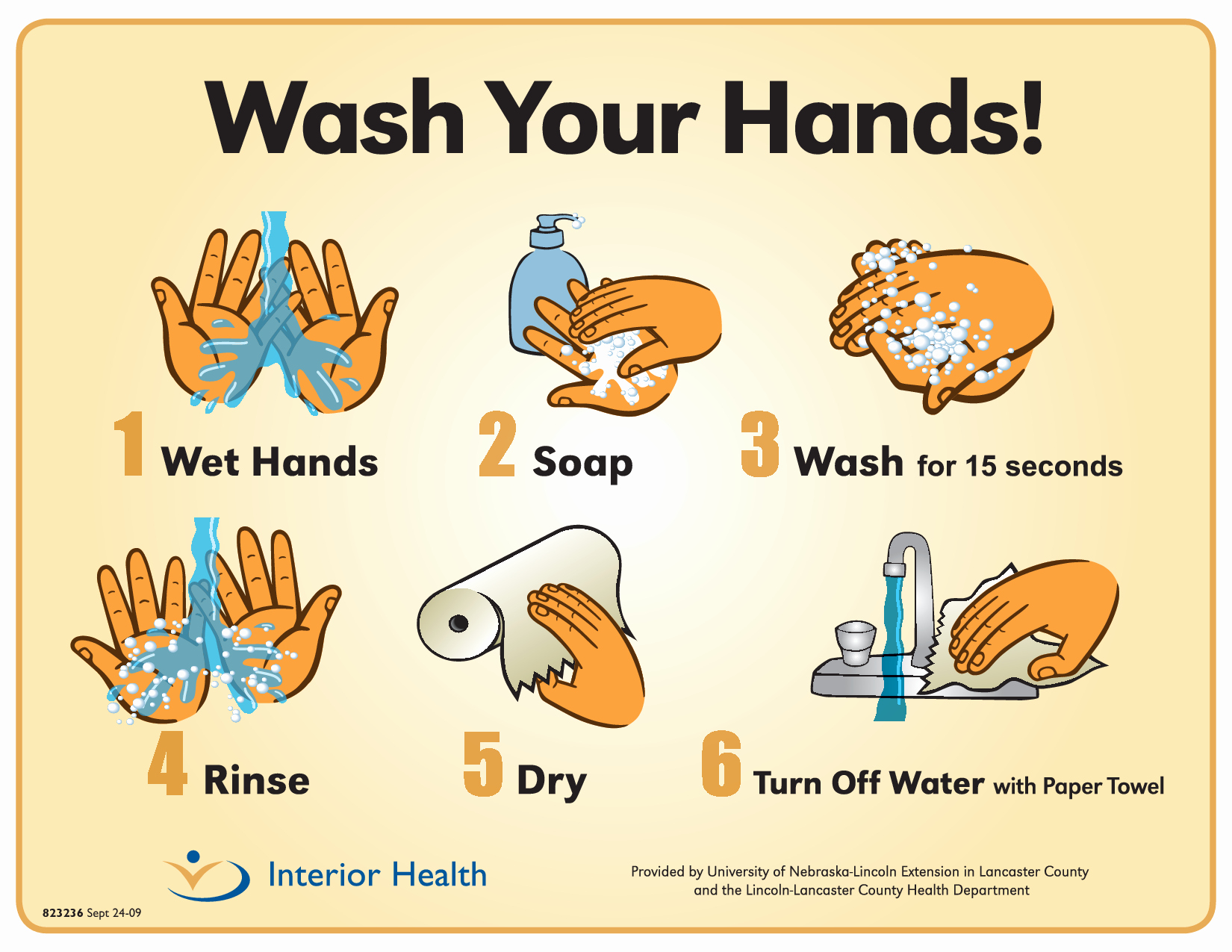 Free Printable Hand Washing Posters Templates - Tduck.ca - Free Printable Hand Washing Posters