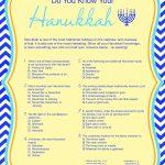 Free Printable Hanukkah Game   Kwanzaa Trivia Free Printable
