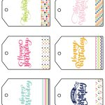 Free Printable Happy Birthday Gift Tags   Sarah Titus   Free Printable Gift Tags
