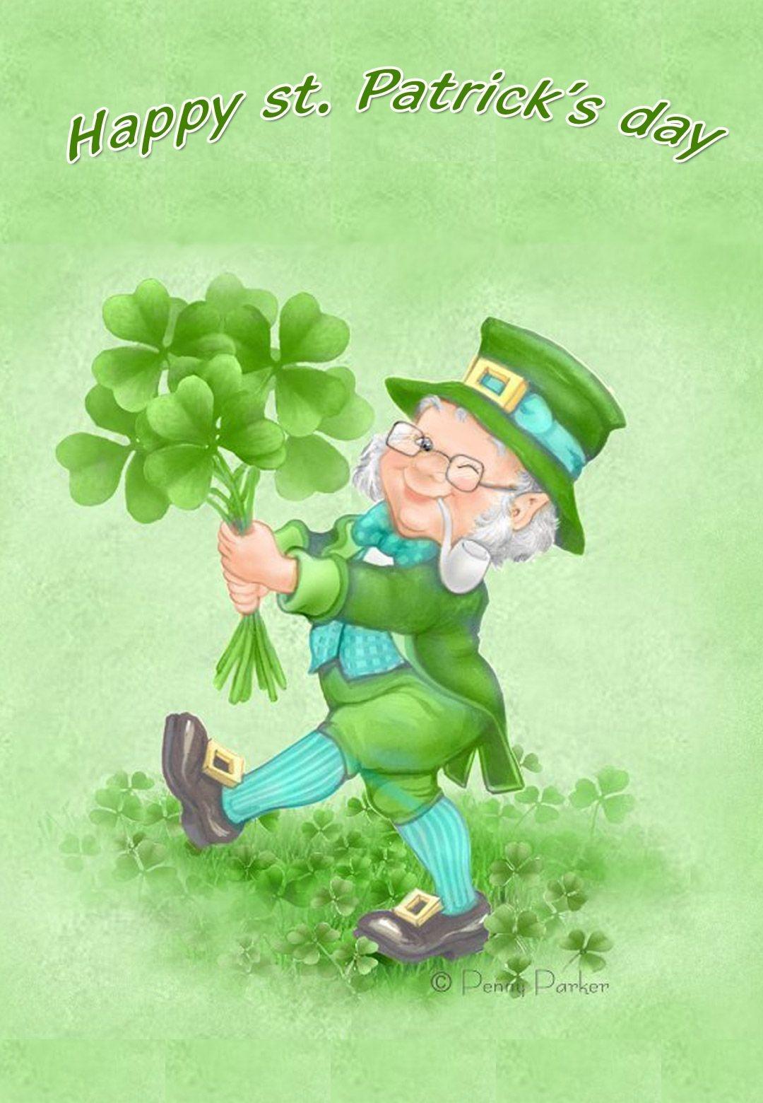 Free Printable Happy St Patricks Day Greeting Card | Printable St - Free Printable St Patrick's Day Card