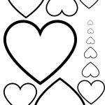 Free Printable. Hearts Printable For Valentine's Day! A4 Format For   Free Printable Hearts