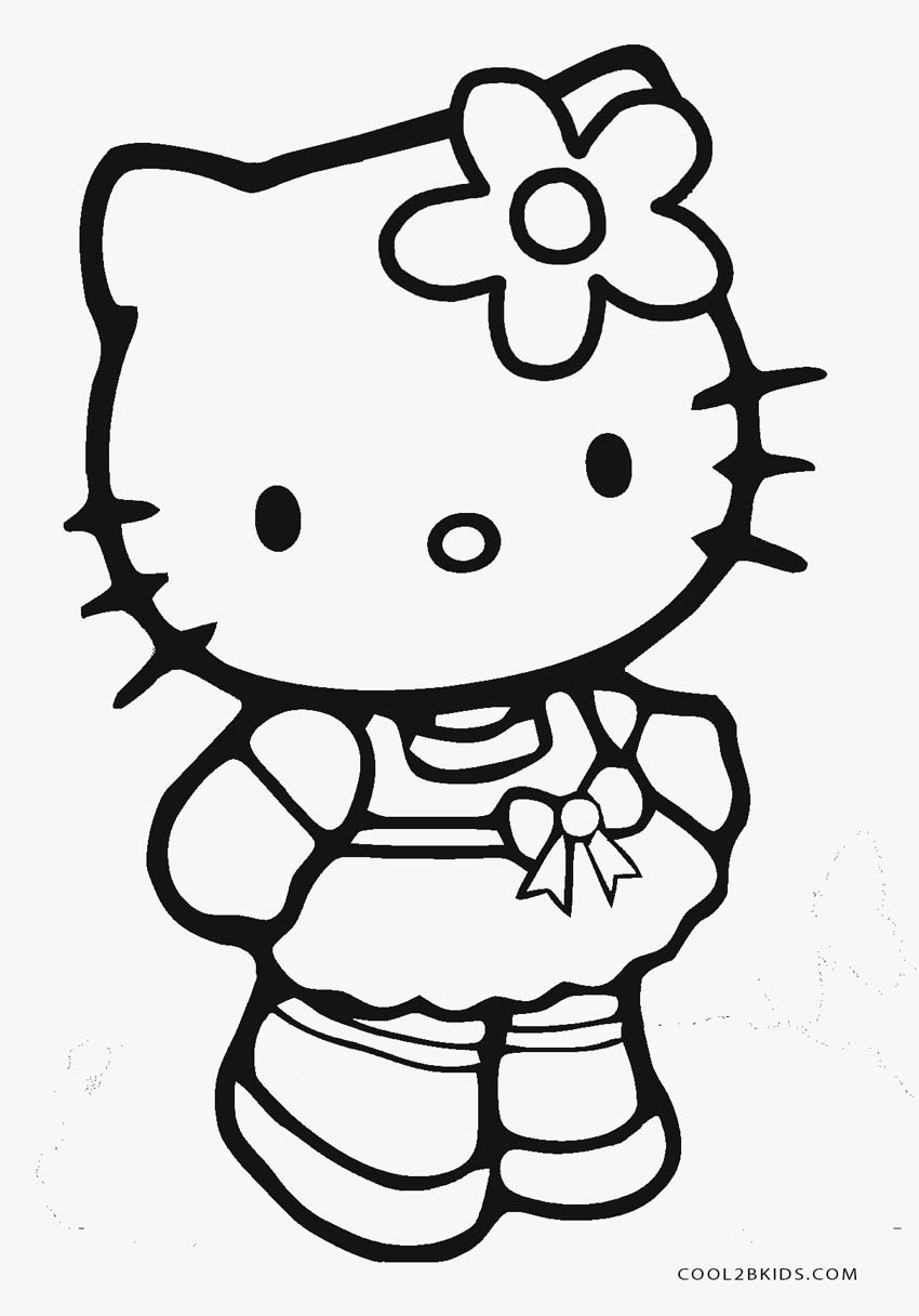 Free Printable Hello Kitty Coloring Pages For Pages | Cool2Bkids - Free Printable Hello Kitty Pictures