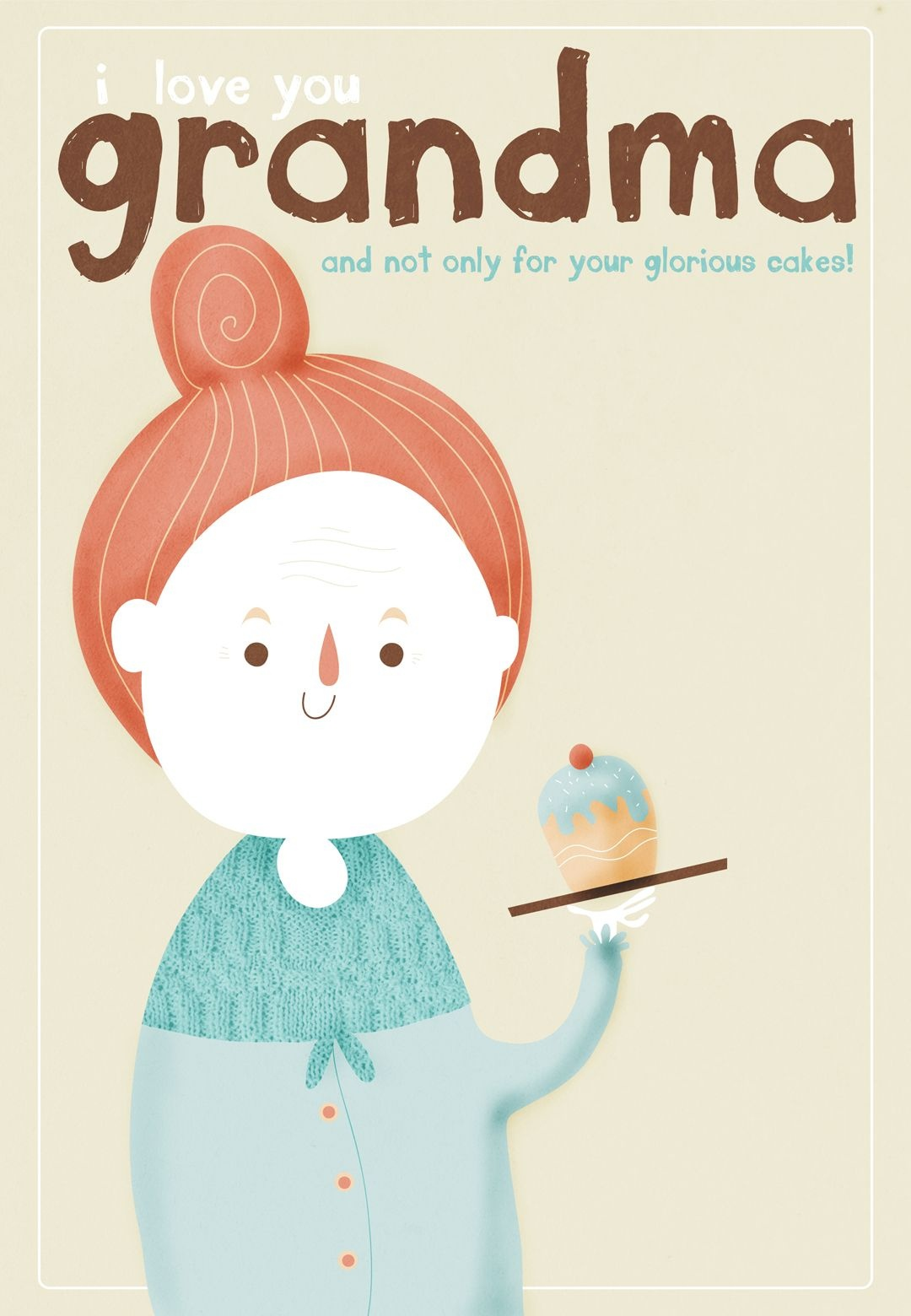 Free Printable I Love You Grandma Greeting Card | Grandparents Day - Christmas Cards For Grandparents Free Printable