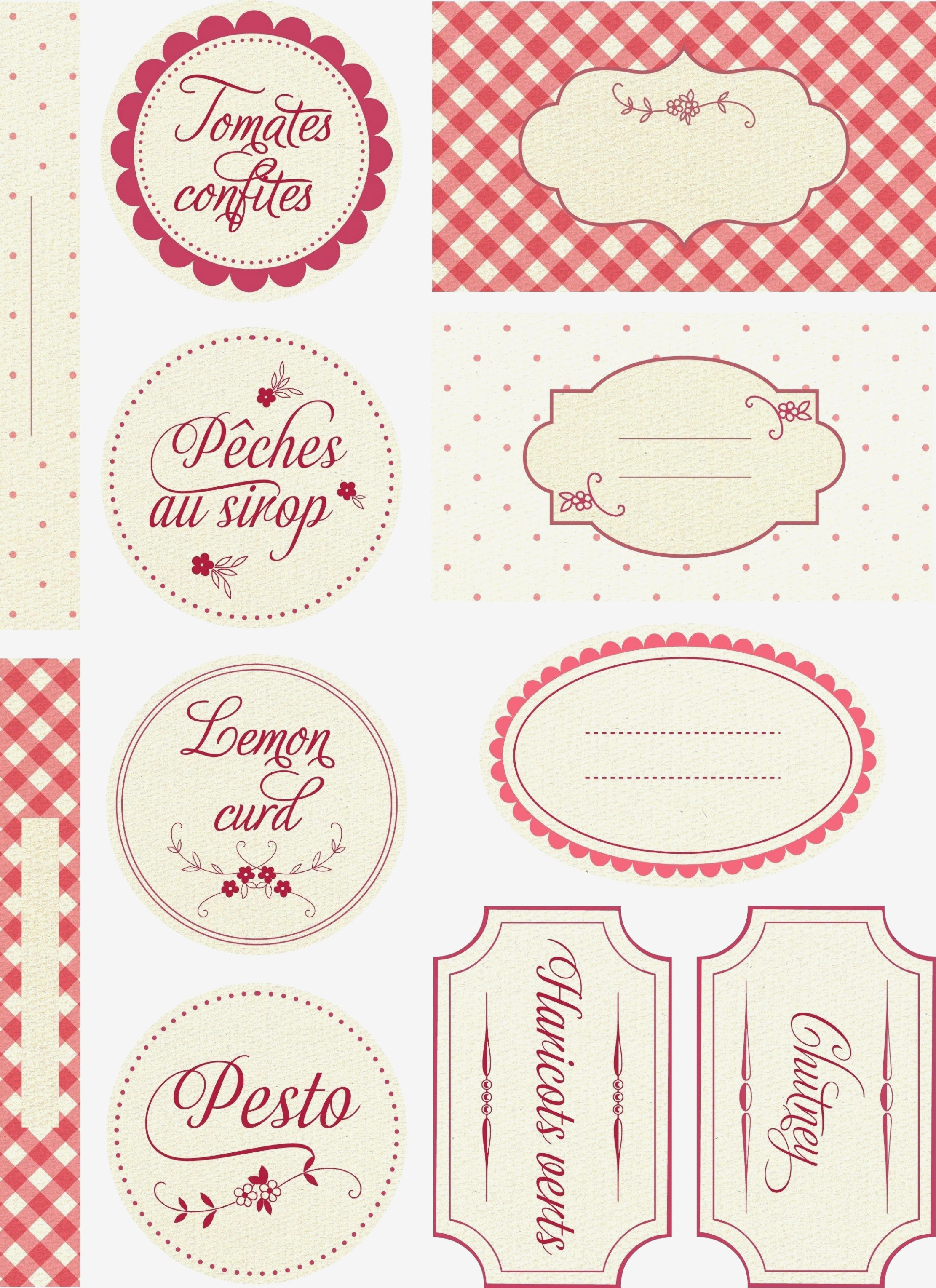 Free Printable Jam Labels Is | Label Maker Ideas Information - Free Printable Jam Labels