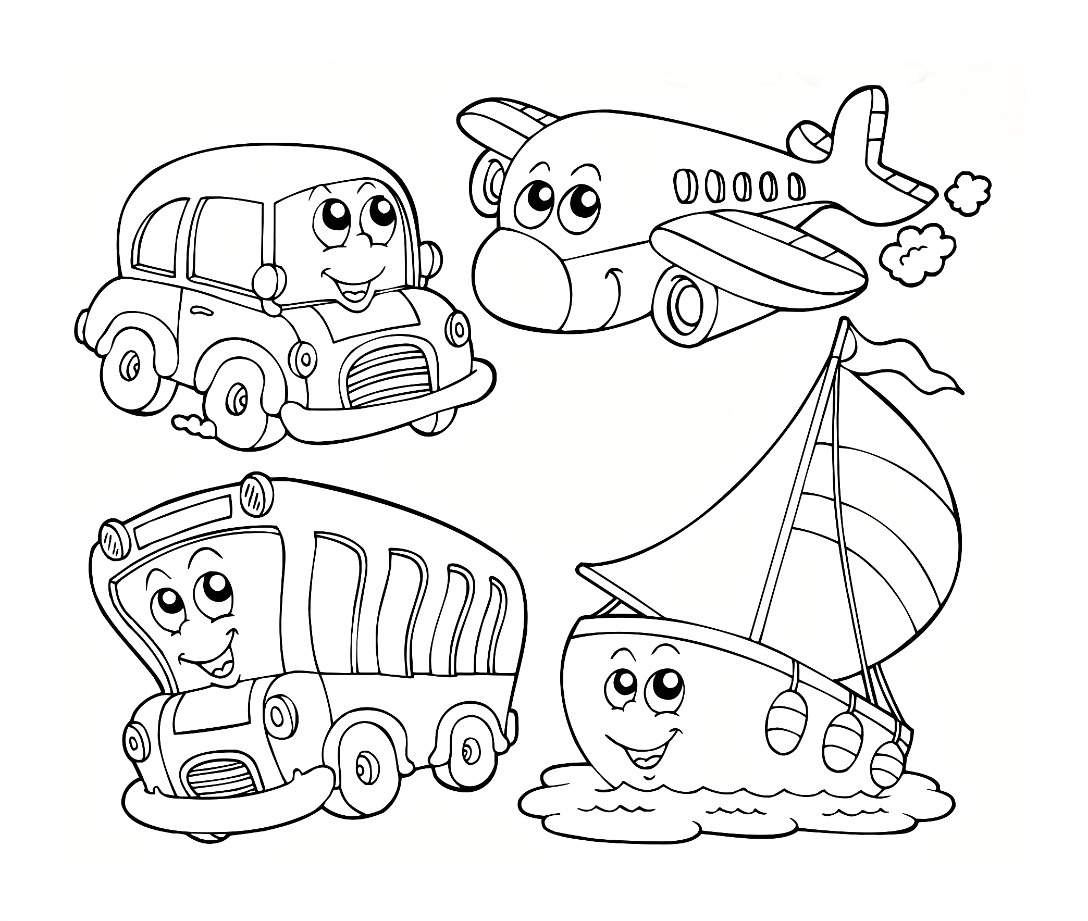 Free Printable Kindergarten Coloring Pages For Kids - Free Printable Color Sheets For Preschool