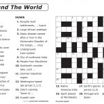 Free Printable Large Print Crossword Puzzles | M3U8   Free Online Printable Crossword Puzzles