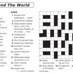 Free Printable Large Print Crossword Puzzles | M3U8   Free Printable Crossword Puzzle Maker Download