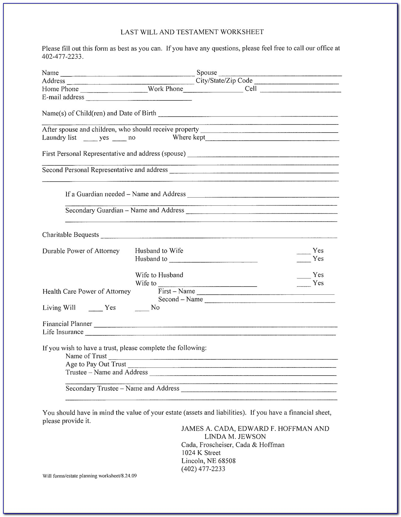 Free Printable Last Will And Testament Forms California - Form - Free Printable Legal Forms California