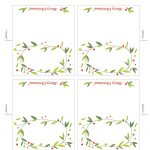 Free Printable Lemon Squeezy: Day 12: Place Cards | Work Stuff   Free Printable Place Cards Template