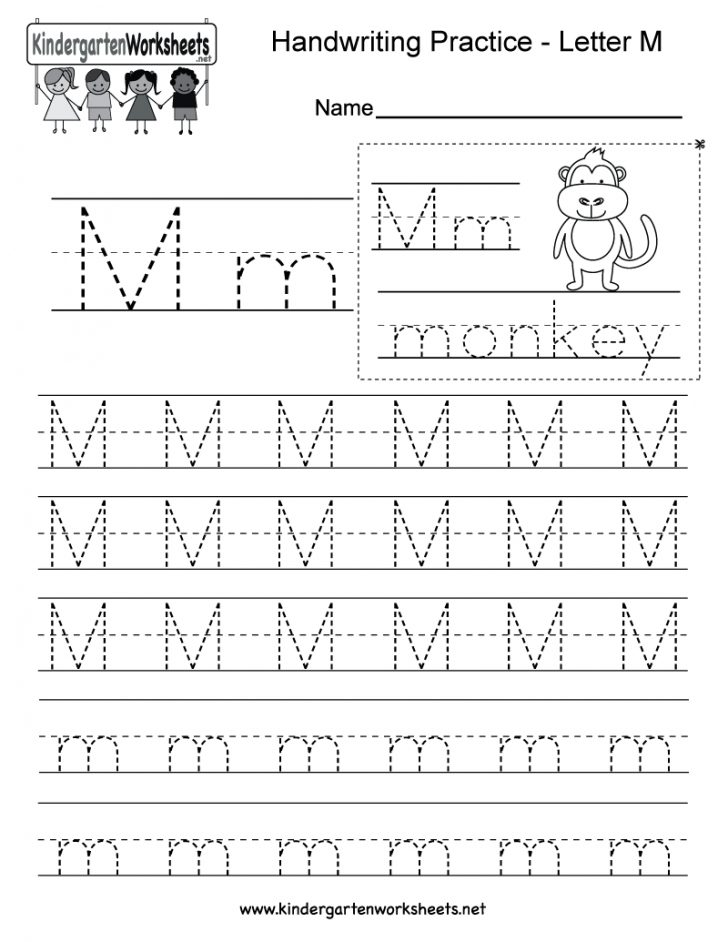 Free Printable Letter Writing Worksheets