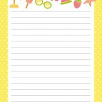 Free Printable Letter Paper | Printables To Go | Free Printable   Free Printable Stationary Pdf