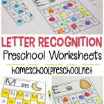 Free Printable Letter Recognition Worksheets | Free Printable   Free Printable Letter Recognition Worksheets
