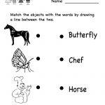 Free Printable Letter Worksheets Kindergarteners | Reading Worksheet   Free Printable Classroom Worksheets