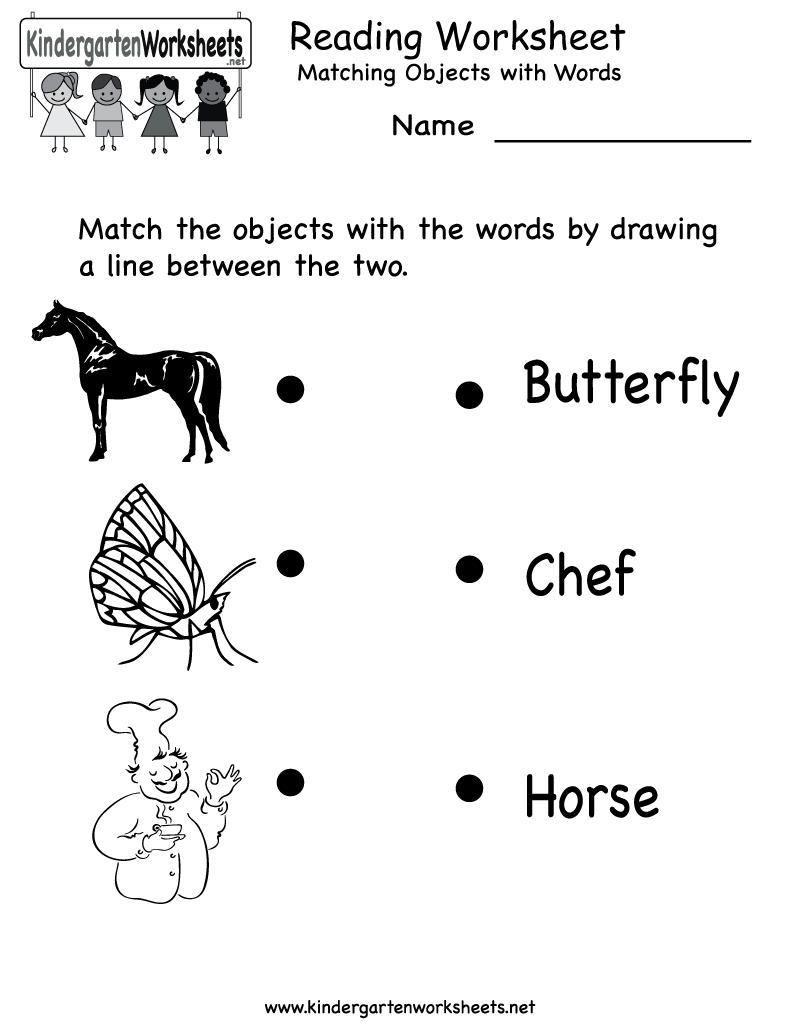 Free Printable Letter Worksheets Kindergarteners | Reading Worksheet - Free Printable Classroom Worksheets