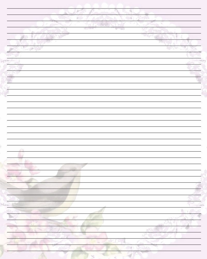 Free Printable Lined Stationary | Printable Writing Paper (67) - Free Printable Golf Stationary