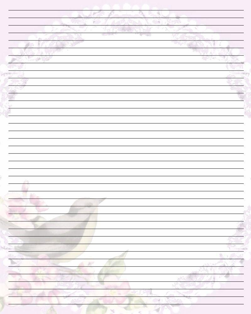 Free Printable Lined Stationary | Printable Writing Paper (67) - Free Printable Golf Stationary