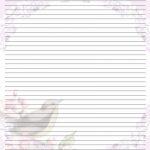 Free Printable Lined Stationary | Printable Writing Paper (67)   Free Printable Writing Paper For Adults