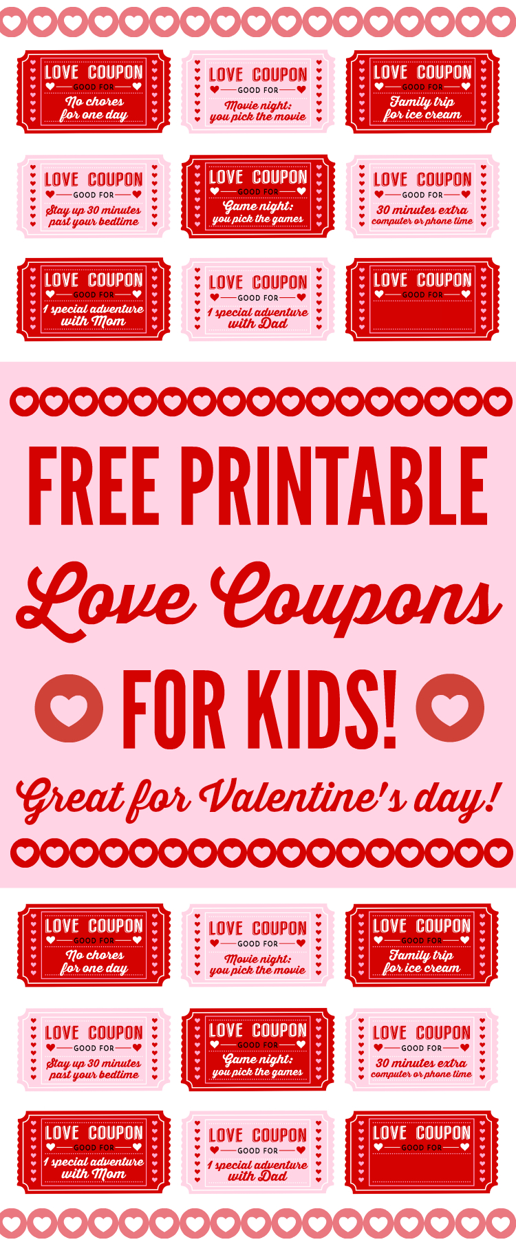 Free Printable Love Coupons For Couples On Valentine's Day! | Catch - Free Printable Coupons Without Downloads