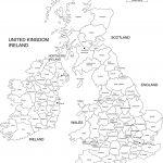 Free Printable Map Of Ireland | Royalty Free Printable, Blank   Free Printable Map Of Uk And Ireland