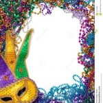 Free Printable Mardi Gras Borders. Royalty Free Stock Photos Border   Free Printable Mardi Gras Invitations