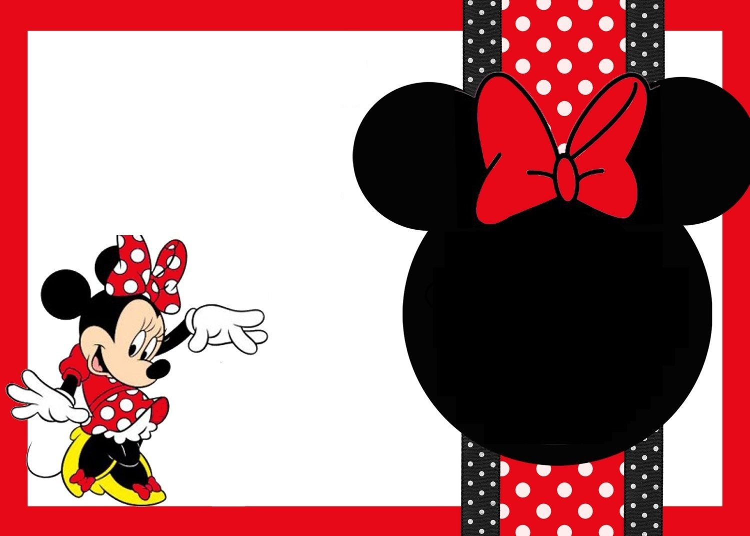 Free Printable Mickey Mouse Birthday Cards   Luxury Lifestyle - Free Printable Mickey Mouse Decorations