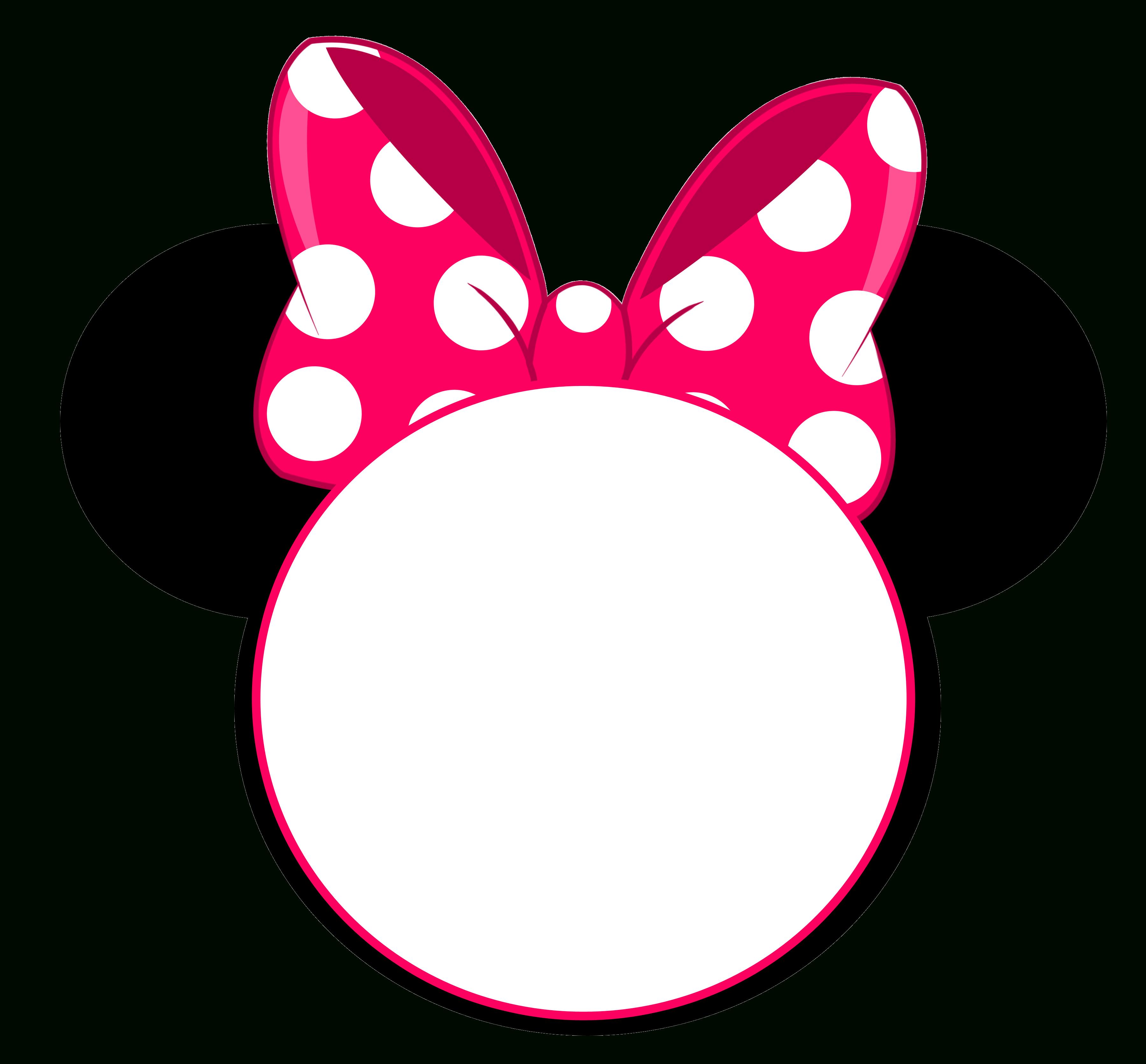 Free Printable Minnie Mouse Pinky Birthday Invitation   Minnie's - Free Minnie Mouse Printable Templates
