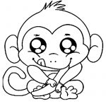 Free Printable Monkey Coloring Pages For Kids   Coloring Pages – Free Printable Monkey Coloring Sheets