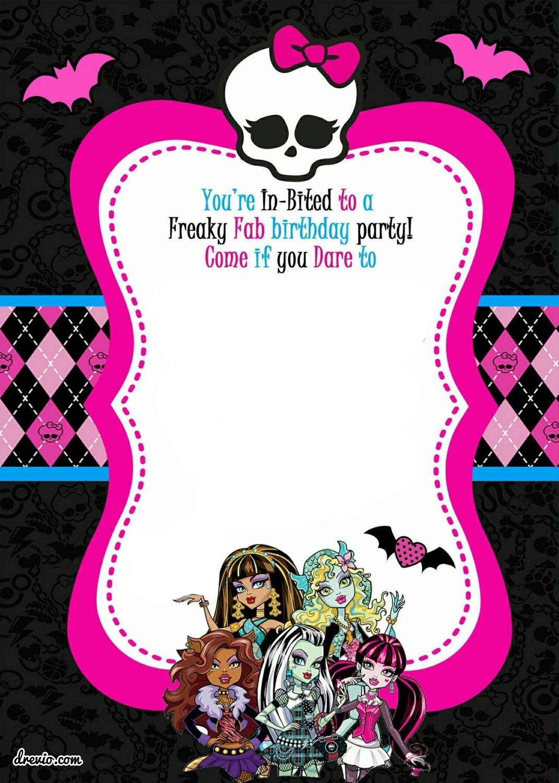 Free Printable Monster High Birthday | Free Printable Birthday - Free Printable Monster High Stickers
