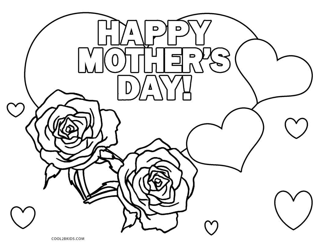 Free Printable Mothers Day Coloring Pages For Kids | Cool2Bkids - Free Printable Mothers Day Coloring Pages