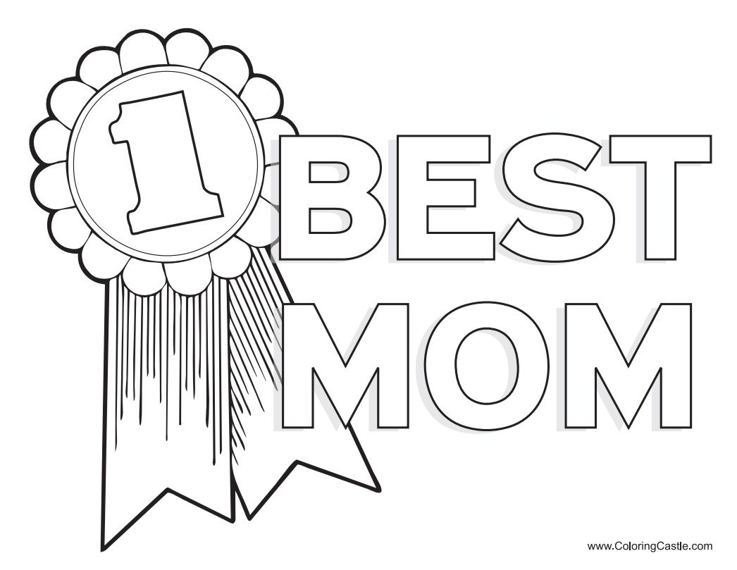 Free, Printable Mother's Day Coloring Pages - Free Printable Mothers Day Coloring Cards