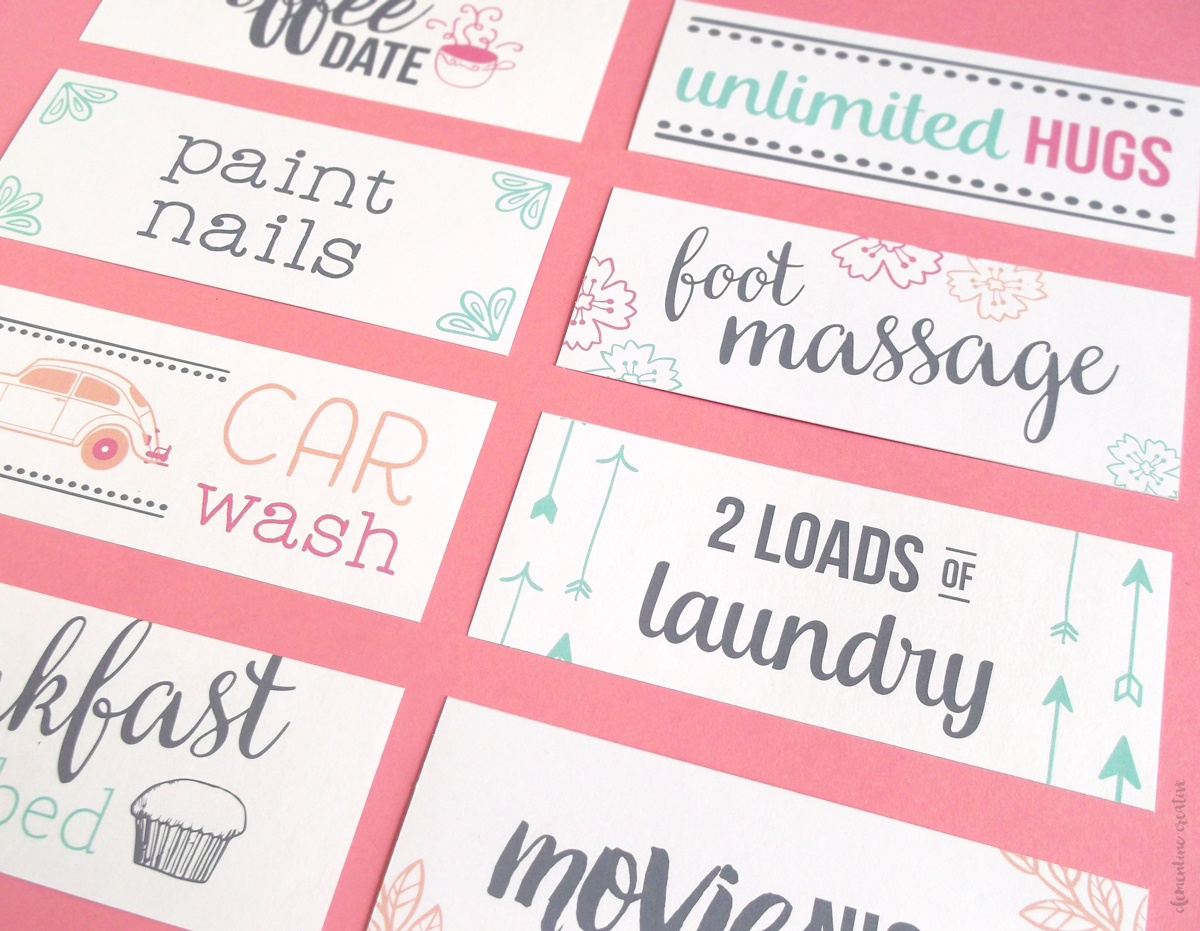 Free Printable Mother's Day Coupons To Make Mom's Day - Make Your Own Printable Coupons For Free