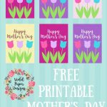 Free Printable Mother's Day Gift Tags | Kids Crafts Activities   Free Printable Mothers Day Gifts