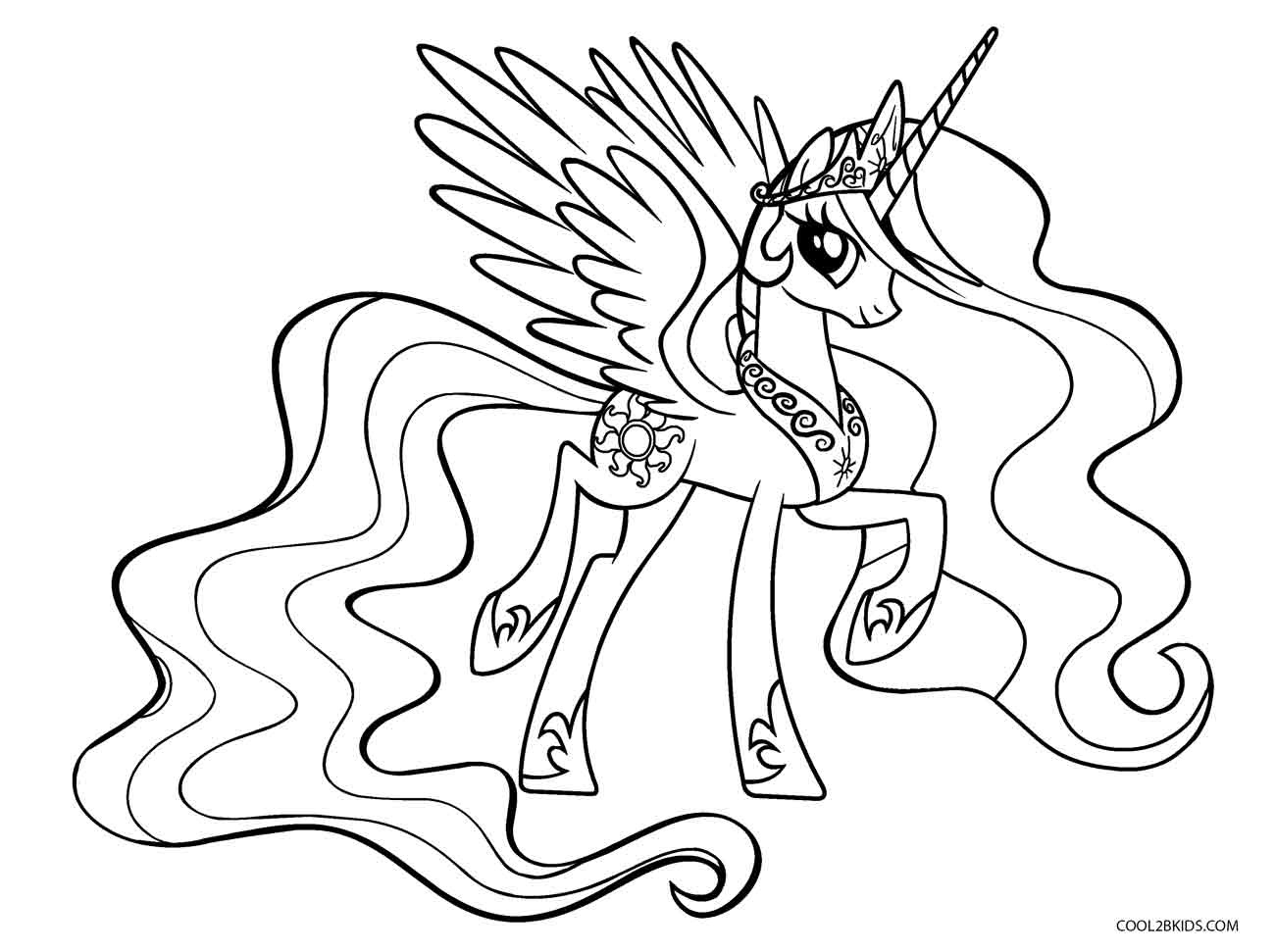 Free Printable My Little Pony Coloring Pages For Kids | Cool2Bkids - Free Printable My Little Pony Coloring Pages
