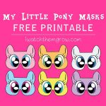 Free Printable My Little Pony Masks | Birthdays, Etc. | Pinterest   Free My Little Pony Printable Masks