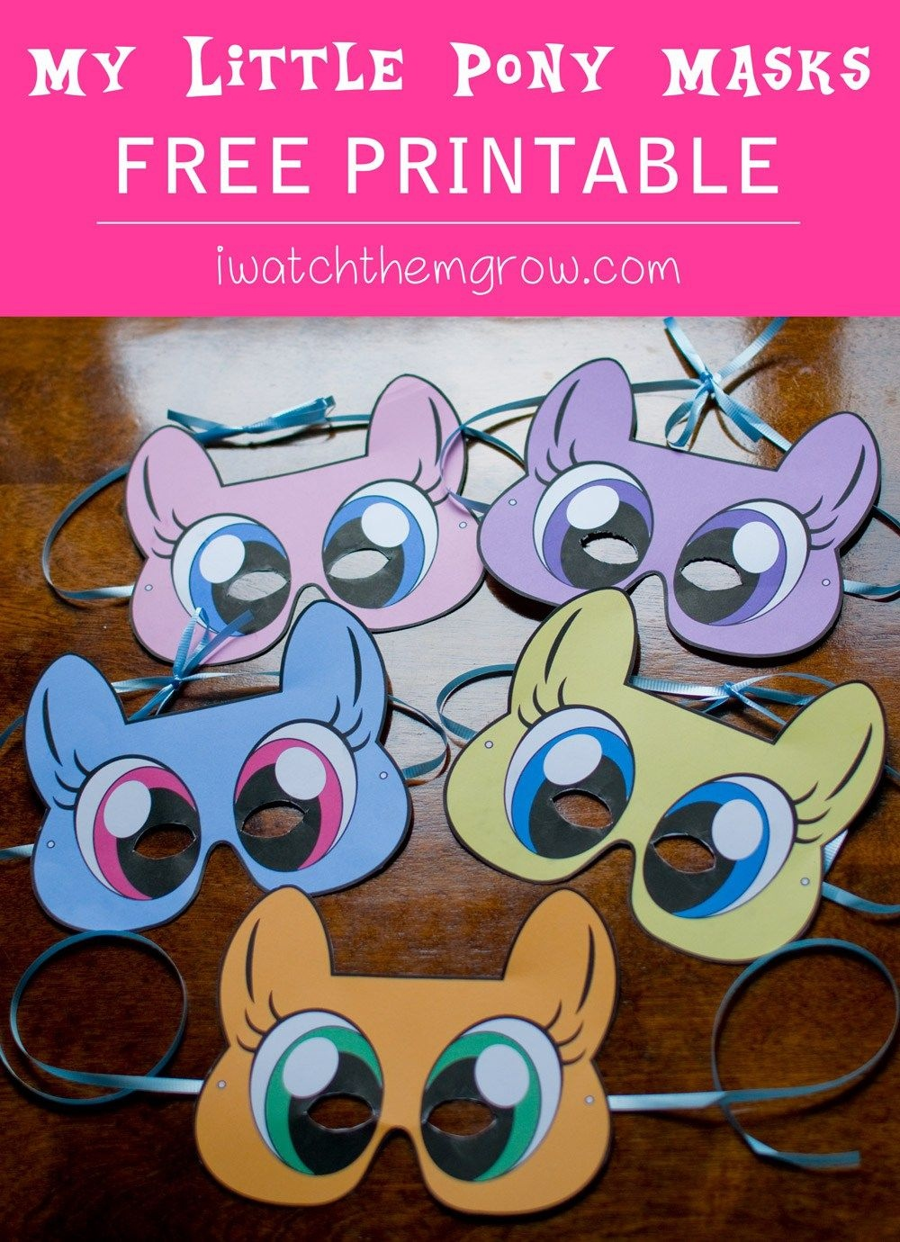 Free Printable My Little Pony Masks | Cartoon - My Little Pony | My - Free My Little Pony Printable Masks
